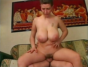 Mature around with boobs having sex with her husband