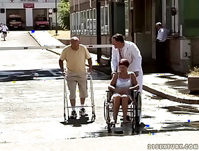 Granny pissing fest
