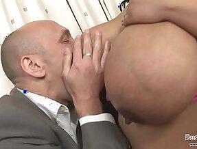 Big Tits Shanice Richards Gets her wet pussy Slammed