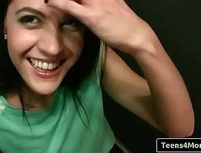 Teens Love Money Spanish Waitress Fucks For Cash with Carolina Abril clip