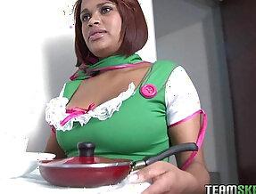 bigtitty latina Yolanda Garcia gets her pussy getting fucked hard