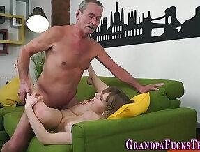 Teen spermed by old man