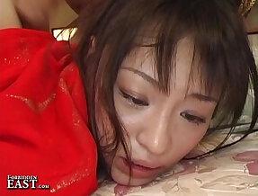 Uncensored Japanese Erotic Fetish Sex One Girl, Two Guys Pt.