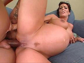 Nancy Vee pregnant interracial anal