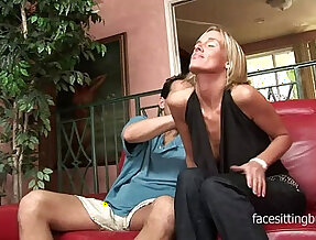 Husband shuts his bitching wife shared with his fat cock