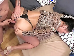 KINKY INLAWS Forbidden anal with MILF Eva Ann and young stepson