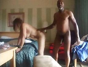 Cuckolding Wife Enjoys a Big Black long Cock