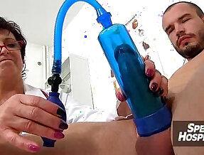 Doctor and sluty patient harrassement feat. wicked Czech milf Gabina