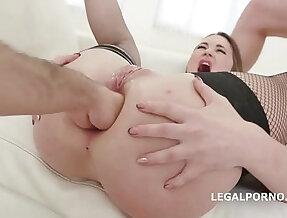 Broken Ass Milana Love Vs Balls Deep Wasted Gape Facial