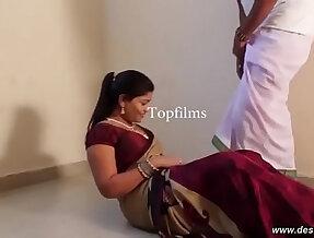 desimasala.co Sashi aunty massage and romance by her servant