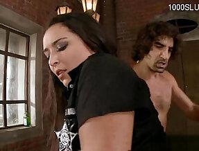 Busty model cum inside her mouth