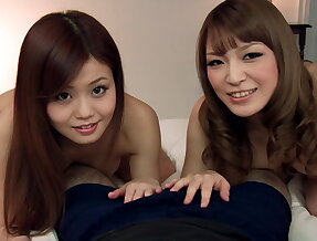 Two Asian cock-suckers