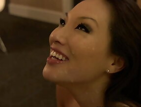 A gorgeous Japanese Pornstar doing escort